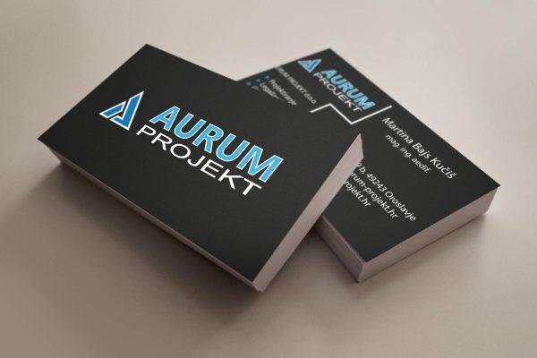 aurum posjetnica